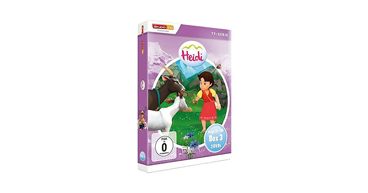 DVD Heidi Teilbox 3 (Folgen 21-30, 3 DVDs)