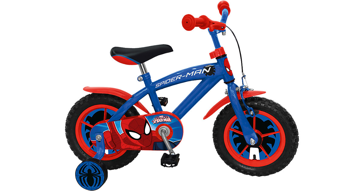 kinderfahrrad spiderman 12 zoll mit r cktrittbremse 95. Black Bedroom Furniture Sets. Home Design Ideas