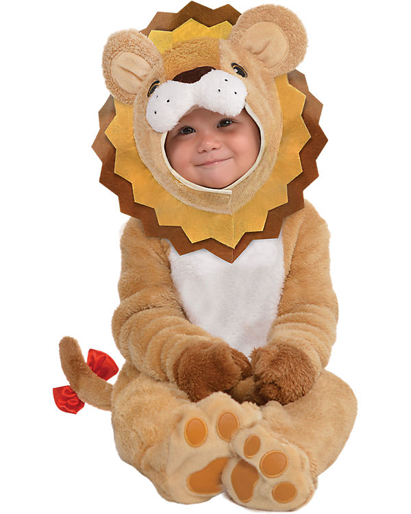 Kostüm Löwe Little Roar, Amscan PjMhrn