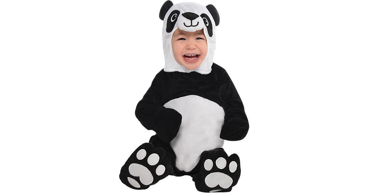 Kostüm Precious Panda schwarz/weiß Gr. 80/92