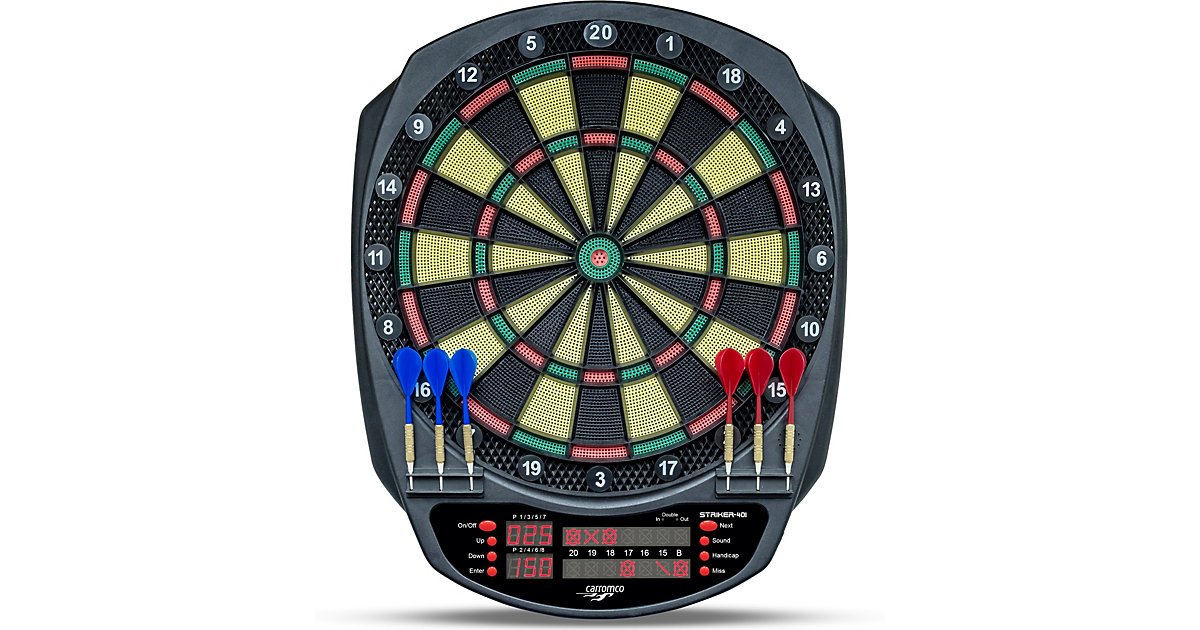 Carromco Elektronik dartboard Striker-401, mit ...