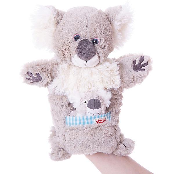 Мягкая игрушка на руку Коала с детенышем, 28 см, Trudi