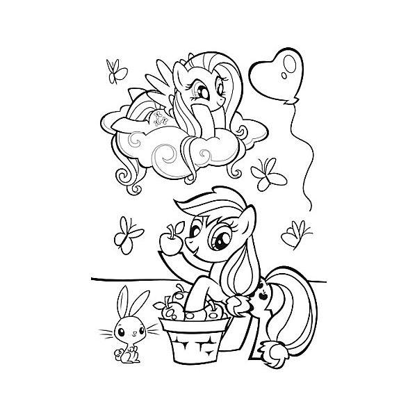 Пазл Колор «Мой маленький пони», 20 деталей, Trefl