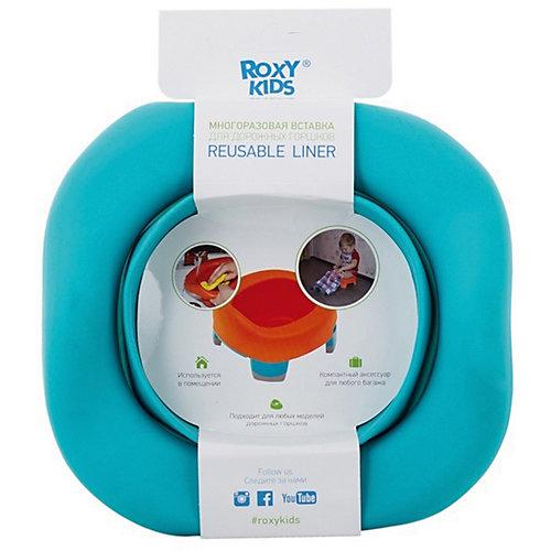 Универсальная вкладка для дорожных горшков, Roxy-Kids, мятный от Roxy-Kids