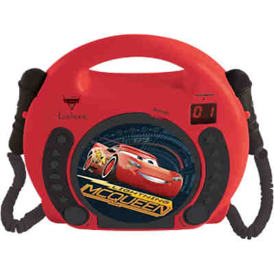 Disney Cars Kinder CD Player mit 2 Mikrofonen