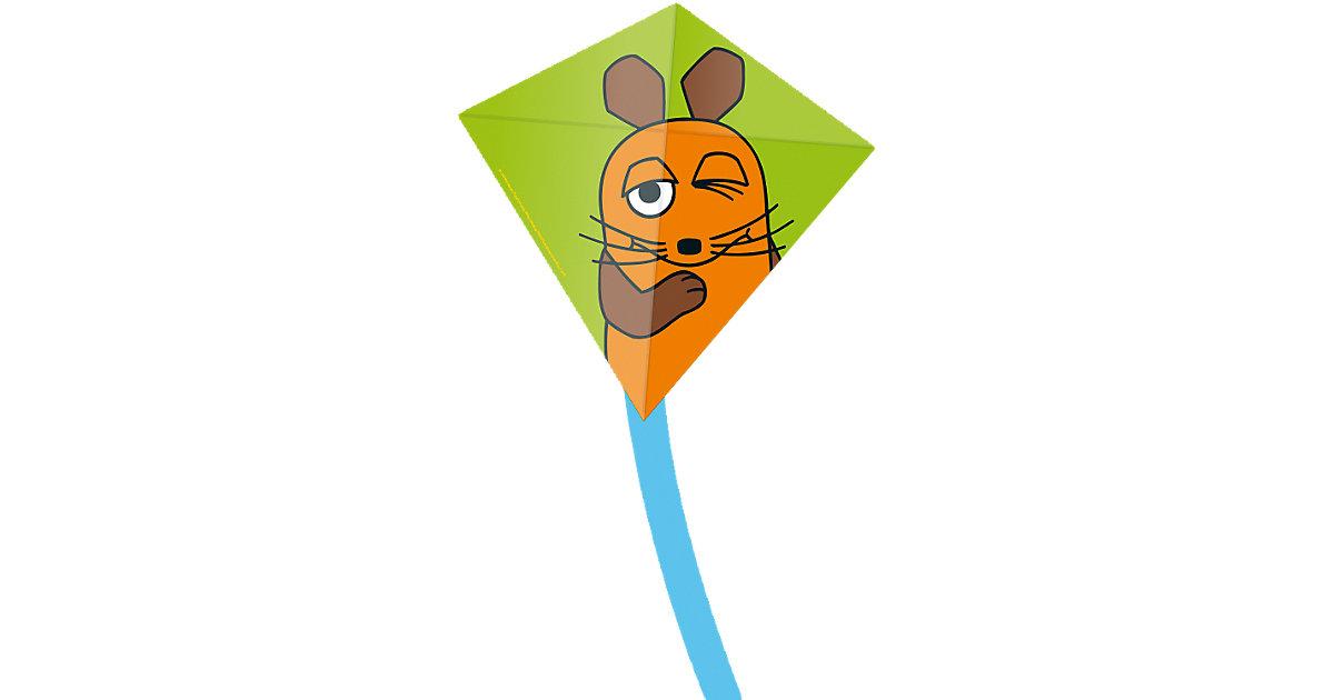 Kinderdrachen Mini Eddy - Maus, grün