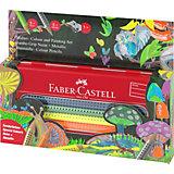 Цветные карандаши Faber-Castell Jumbo Grip Neon+Metallic, 10 цветов