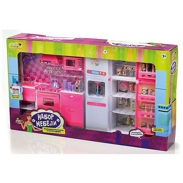 набор мебели для кукол большая кухня Dollytoy 5581266 купить за