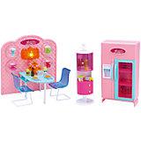 """Набор мебели для кукол """"Уютное кафе"""", DollyToy"""