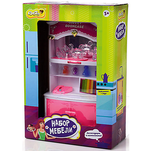 "Набор мебели для кукол ""Книжный шкаф"", DollyToy от DollyToy"