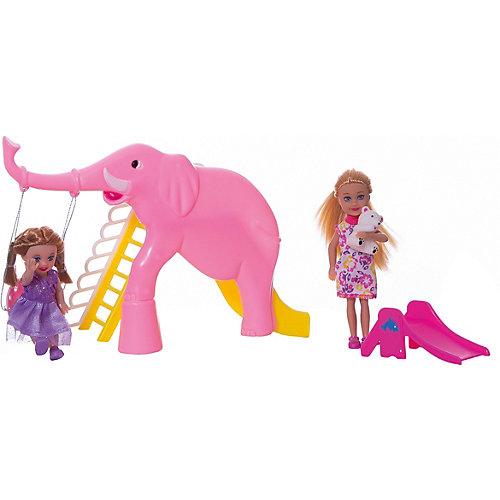 """Набор из 2-х кукол """"В зоопарке"""", 11 см, 14 см, Defa Lucy от Defa Lucy"""
