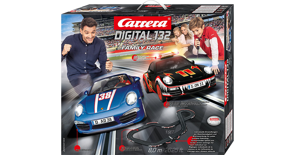 CARRERA Digital 132 30199 Family Race