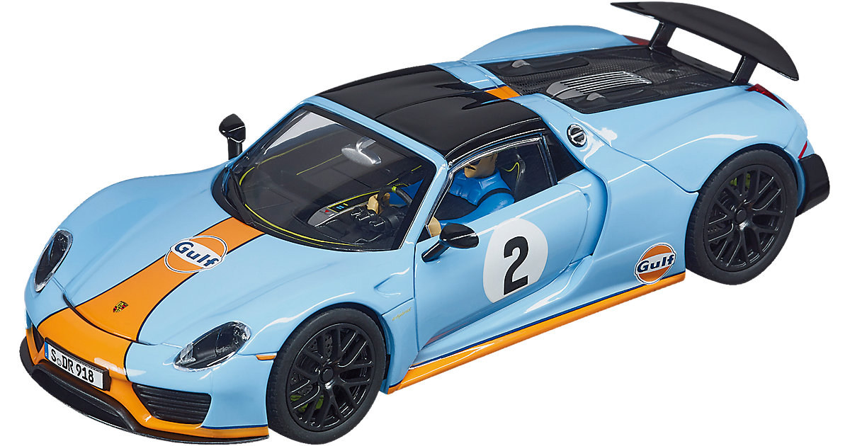 CARRERA Evolution 27549 Porsche 918 Spyder Gulf Racing No.02
