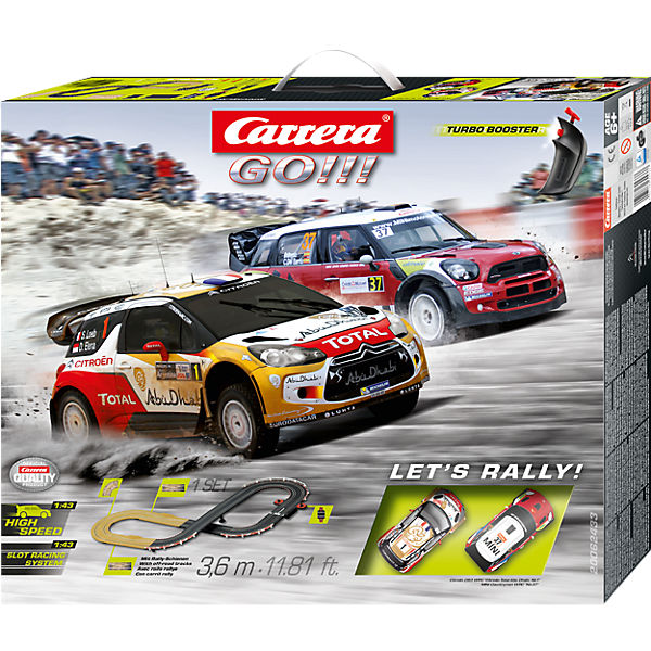 CARRERA GO!!!  62433 LET& 039;S RALLY!, Carrera
