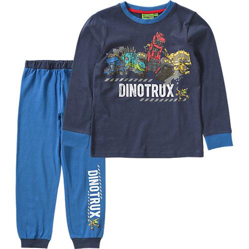Dinotrux Schlafanzug Gr. 116/122 Jungen Kinder | 04052384267377