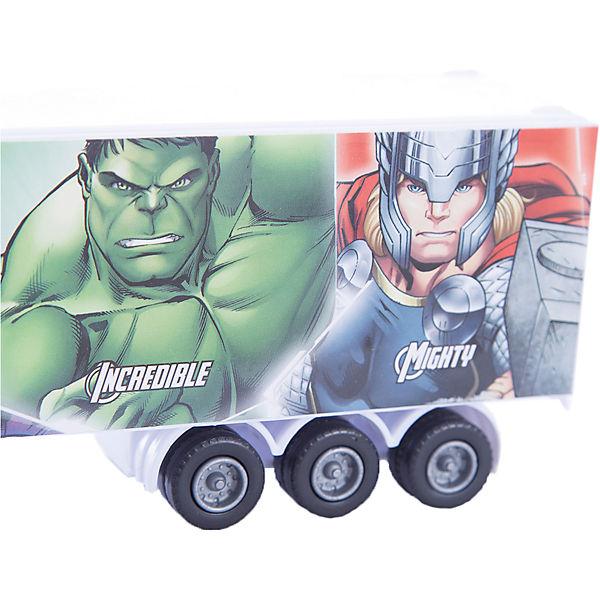 "Машинка ""Avengers"" Мстители тягач с полуприцепом 1:48, Autotime"