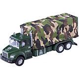 """Машинка """"Military Truck"""" с тентом 1:48, Autotime"""