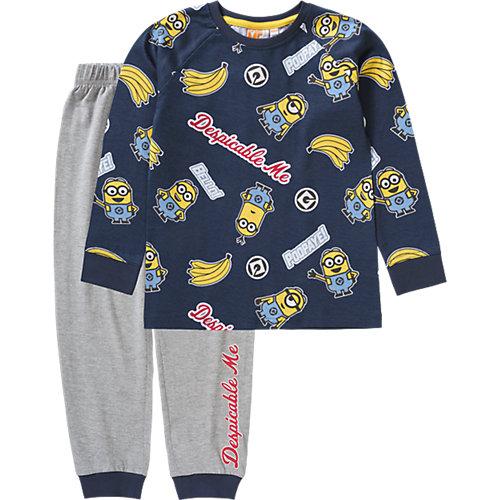 Minions Schlafanzug Gr. 116/122 Jungen Kinder | 04052384266394