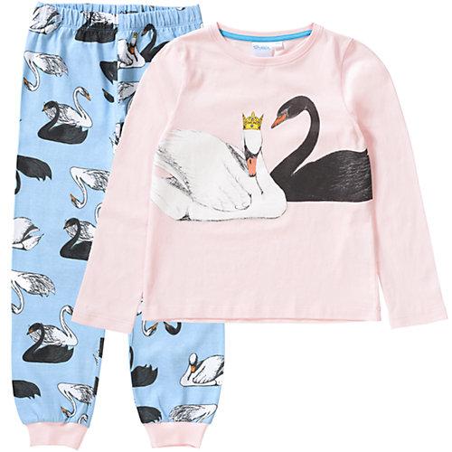 Schlafanzug von TVMANIA Gr. 92/98 Mädchen Kleinkinder | 04052384266707