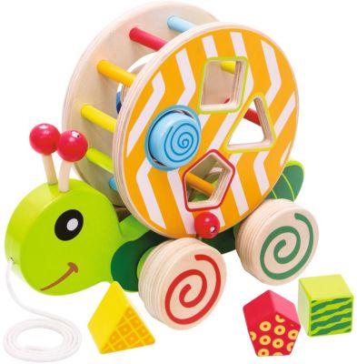 Baby Holzspielzeug Eichhorn Nachziehtier Ente Babyspielzeug Ziehtier Schiebetier Holzspielzeug Holz