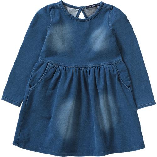 Blue Seven Kinder Sweatkleid in Jeansoptik Gr. 122 Mädchen Kinder   04055851799319