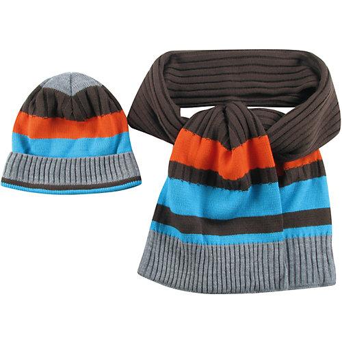 Комплект Wojcik: шапка и шарф - белый от Wojcik