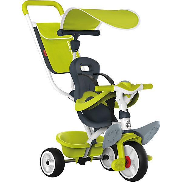Dreirad Baby Balade, grün, Smoby