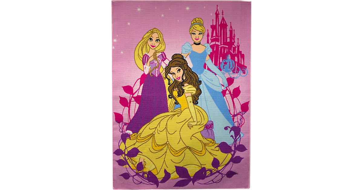 Kinderteppich Disney Prinzessinen, 95 x 133 cm