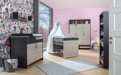 Schardt Clou Kombi-Kinderbett 70x140 cm anthrazit NEU Suomi Pinie