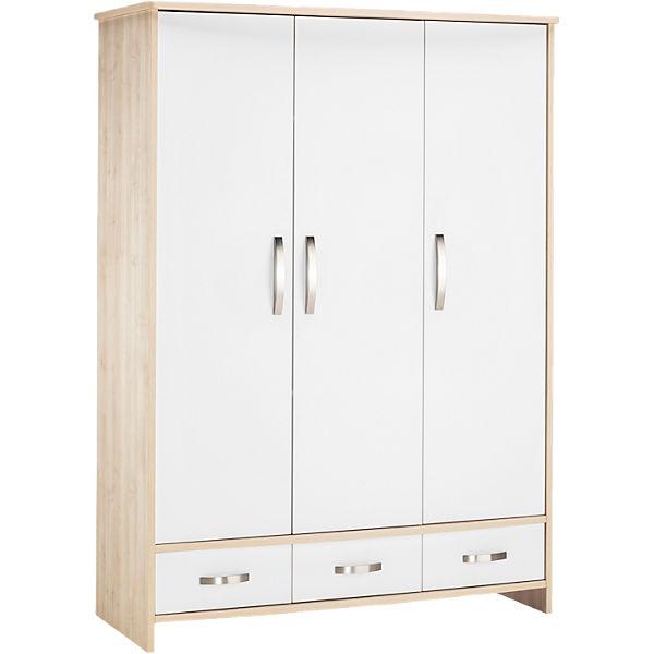 kleiderschrank honey ahorn wei 3 t rig schardt mytoys. Black Bedroom Furniture Sets. Home Design Ideas
