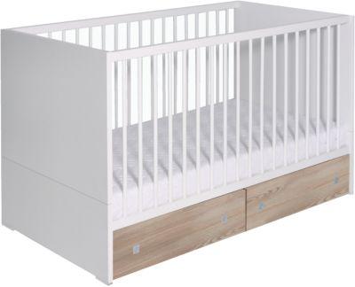 Kinderbett ENZO 70 x 140 cm weiß Pinolino