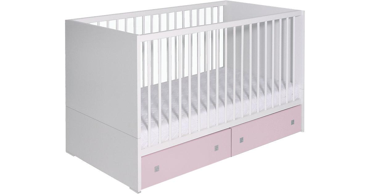 Schardt · Schardt Kinderbett Clic weiß / rosa
