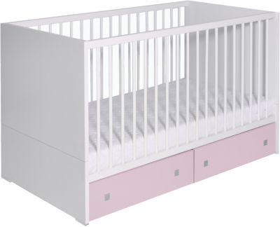 Kinderbett weiß 70x140  Kinderbett CANDY BLUE, weiß/blau/grau, 70 x 140 cm, Schardt | myToys
