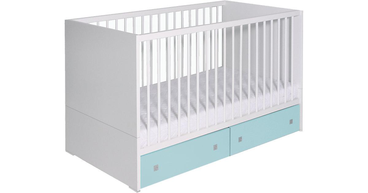 Schardt · Schardt Kinderbett Clic weiß / türkis