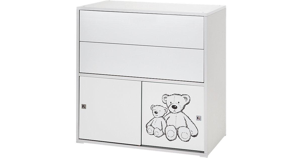 Schardt · Schardt Korpus mit 2 kleinen Schiebetüren und 2 Schüben Clic Teddy