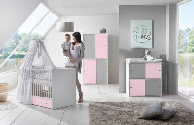Kinderbett & Wickelkommode Sparset BJ–RN Buche Pinolino