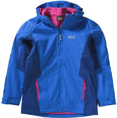Wolfskin 3in1 Outdoorjacke Kinder Kinder Outdoorjacke GrivlaJack 3in1 EDI29WH