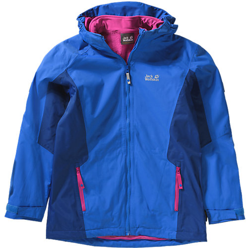 JACK WOLFSKIN Kinder 3in1 Outdoorjacke GRIVLA Gr. 176 | 04055001633494