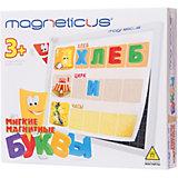 """Игровой набор """"Мягкие магнитные буквы"""",  Magneticus"""