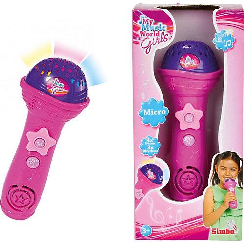 Микрофон, 4 демо, 3 ритма, 20 см, Simba от Simba