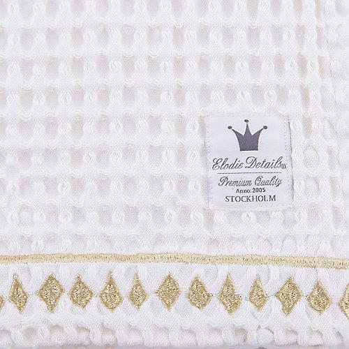 Плед  Vanilla White, Elodie Details, вафельный узор от Elodie Details