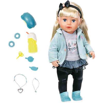 Exklusiv Baby Born 174 Stehpuppe Sister 43 Cm Zapf Creation