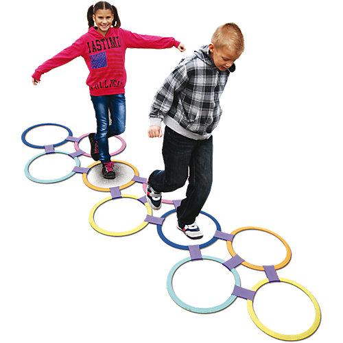 Ruhland Angebote KNORRTOYS.COM Jump in the circle - Hüpfringe 10 Ringe