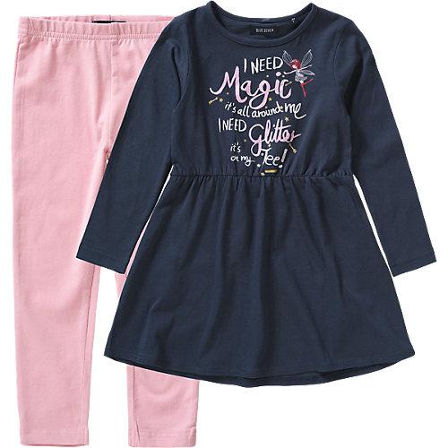 Blue Seven Kinder Set Jerseykleid + Leggings Gr. 92 Mädchen Kleinkinder | 04055851774408
