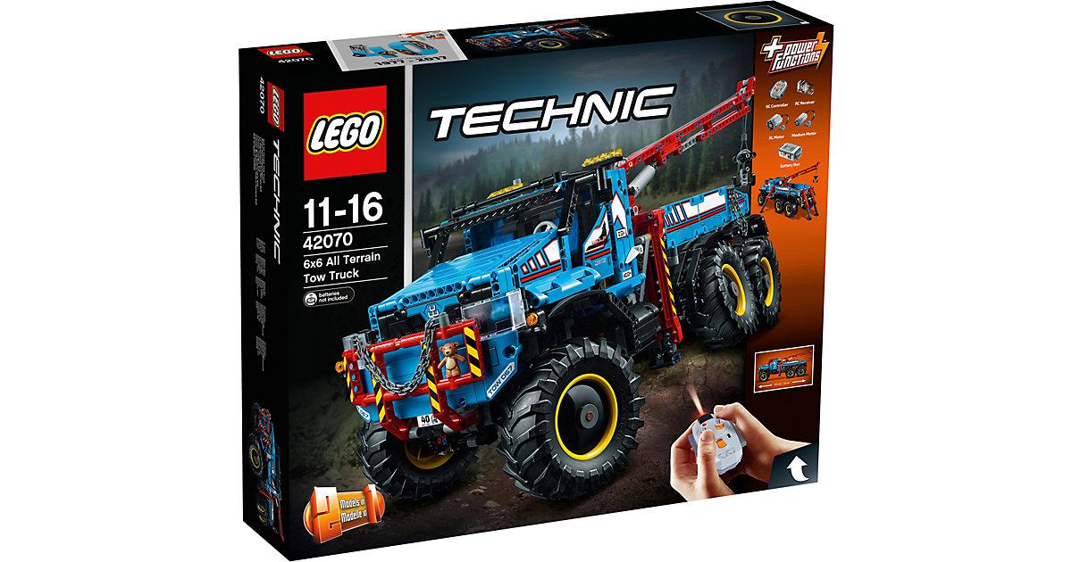 LEGO · LEGO 42070 Technic: Allrad-Abschleppwagen