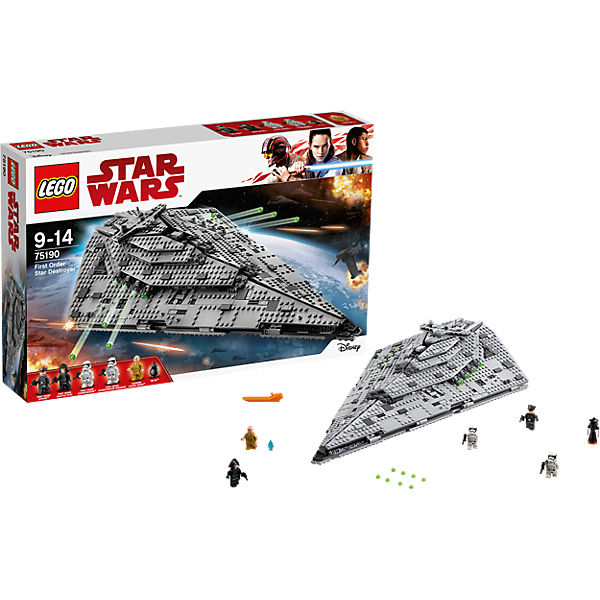 LEGO 75190 Star Wars: First Order Star Destroyer, Star Wars