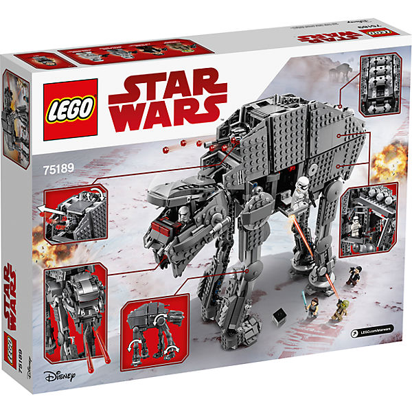 LEGO STAR WARS 75189: Штурмовой шагоход Первого Ордена