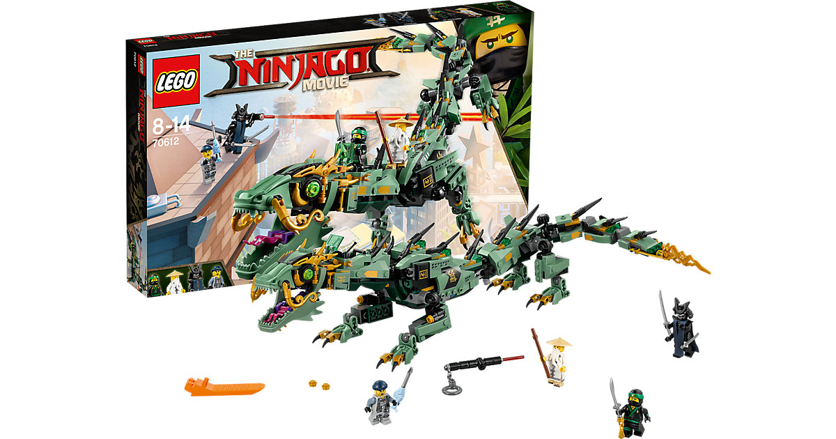 LEGO 70612 Ninjago: Mech-Drache des Grünen Ninja