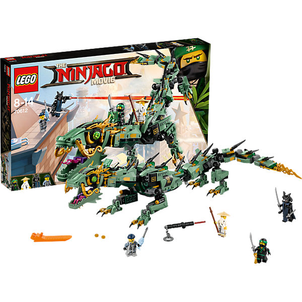 lego 70612 ninjago mech drache des gr nen ninja lego. Black Bedroom Furniture Sets. Home Design Ideas