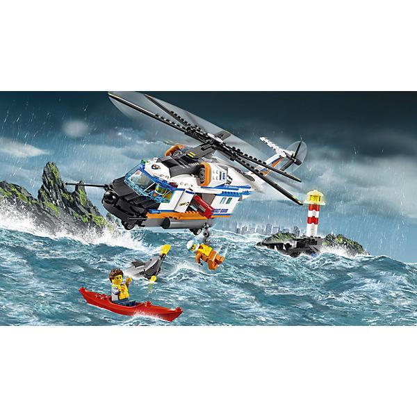 LEGO City 60166: Сверхмощный спасательный вертолёт